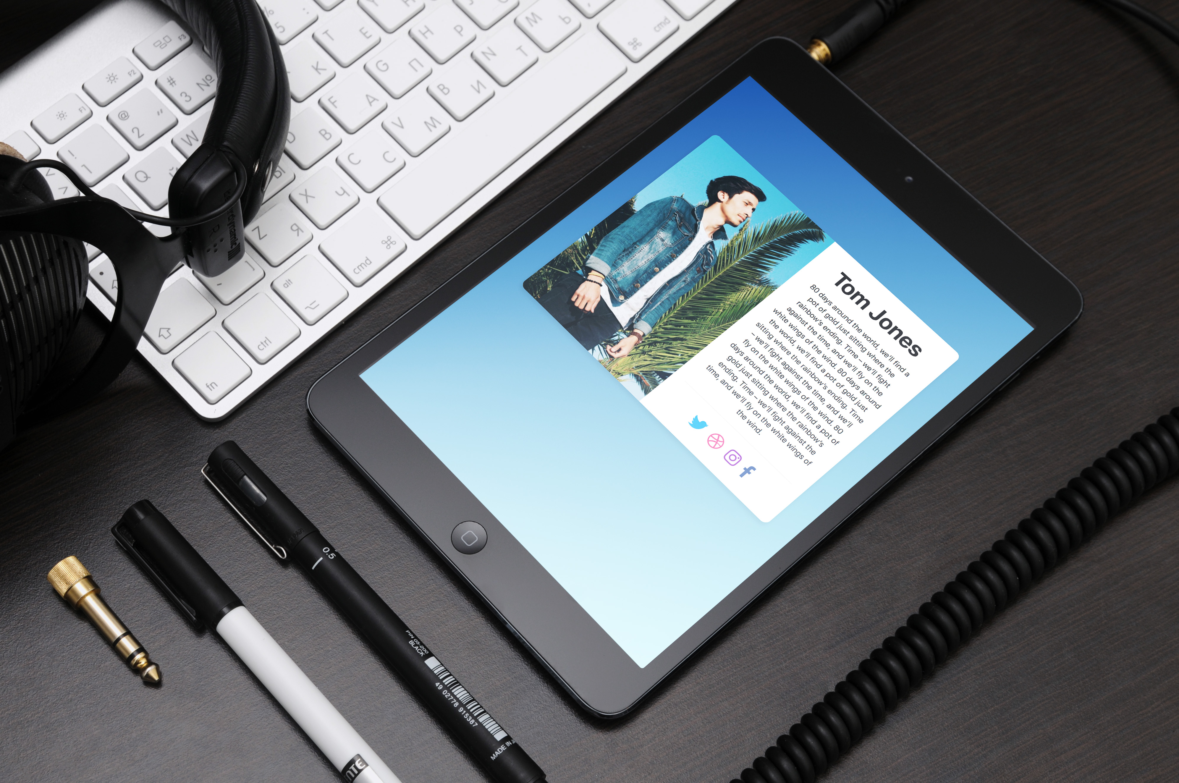 Dona Personal Theme iPad